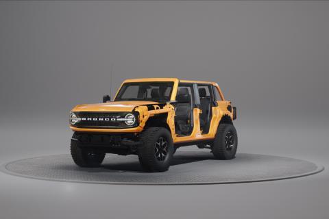 Ford Bronco y sus puertas revolucionarias