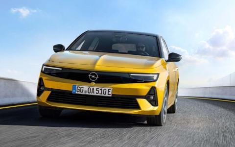 Galería: primeras imágenes del nuevo Opel Astra 2021