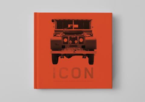Libro ICON sobre el Land Rover Defender