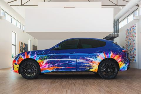 Maserati Levante de Massimo Bottura