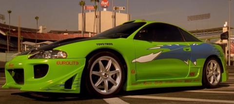 Mitsubishi Eclipse de Paul Walker en 'The Fast and the Furious'