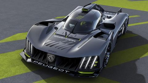 Peugeot 9X8 Le Mans Hypercar