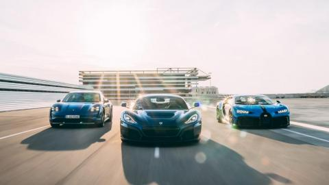 Porsche, Rimac y Bugatti