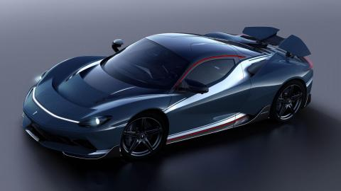 Primer Pininfarina Battista 2021