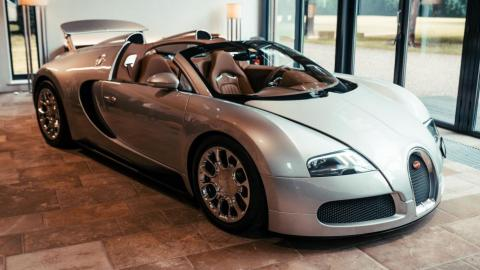 Prototipo Bugatti Veyron Grand Sport