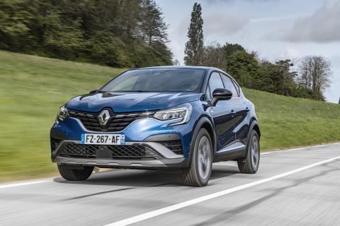Prueba Renault Captur híbrido recargable