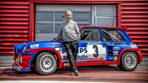 Renault 5 Maxi Turbo y Jean Ragnotti