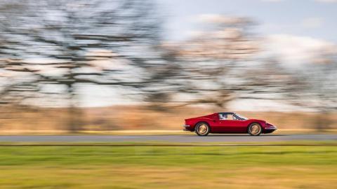 Restomod Ferrari Dino V8