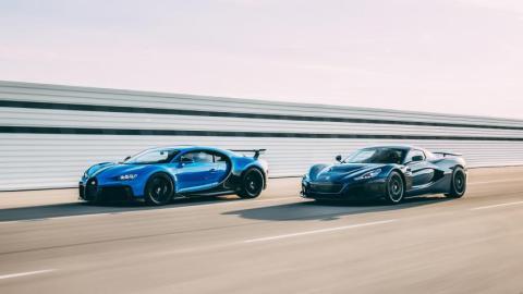 Rimac y Bugatti