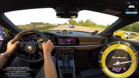 velocidad maxima porsche 911 turbo s