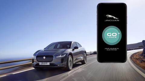 App Jaguar GO I-PACE