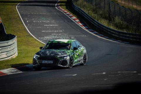 Audi RS 3 Sedan record Nürburgring