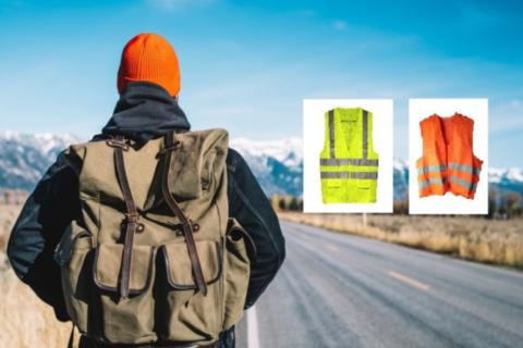 Consejos de la DGT para caminar por la carretera