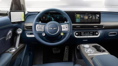 Interior del Genesis GV60