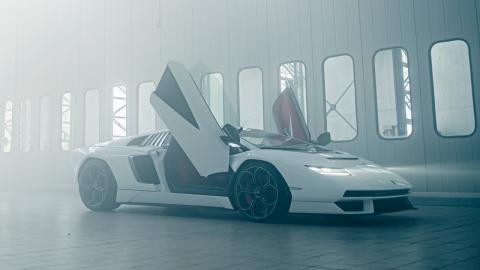 Así es el nuevo Lamborghini Countach LP800-4