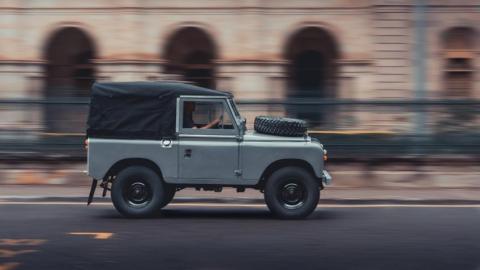 Land Rover Serie 2A de Oliver&Dobson