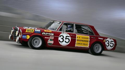 Mercedes 300 SEL 6.8 AMG de las 24 Horas de Spa de 1971