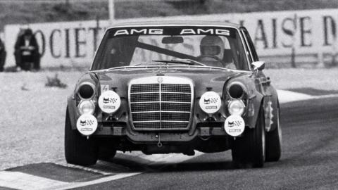 Mercedes 300 SEL 6.8 AMG de las 24 Horas de Spa 1971