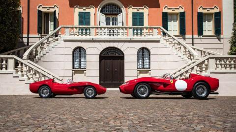 Réplica del Ferrari Testa Rossa