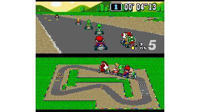 Super Mario Kart de 1993
