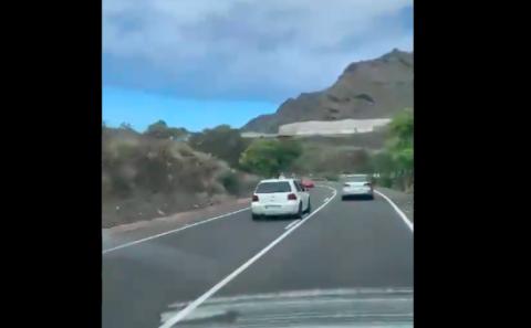 Adelantamiento Tenerife