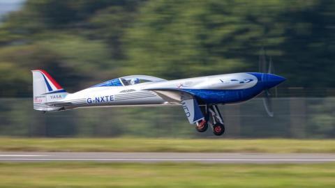 Avión eléctrico 'Espíritu de la Innovación' de Rolls Royce