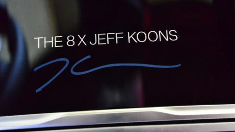 BMW 8 X Jeff Koons