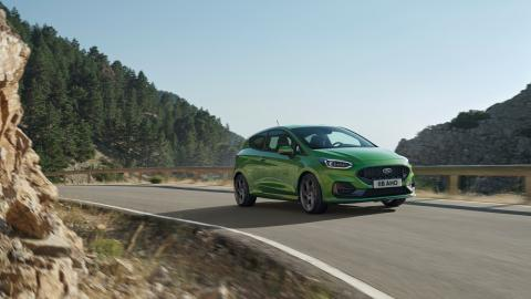 Ford Fiesta ST 2022 ST Mean Green