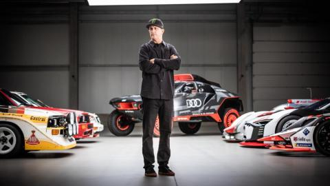 Ken Block firma un acuerdo con Audi