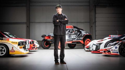 Ken Block próximo coche Audi gymkhana