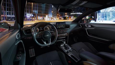 Kia Ceed Tourer VS Kia ProCeed interior