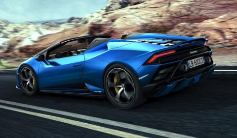 Lamborghini Huracán Evo RWD Spyder 2021