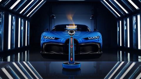 Maquinilla de afeitar de Gillette y Bugatti