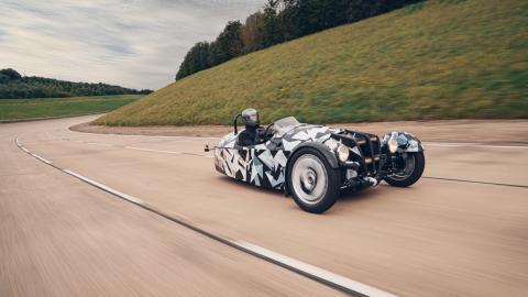 Nuevo Morgan de 3 ruedas, sustituto del 3 Wheeler
