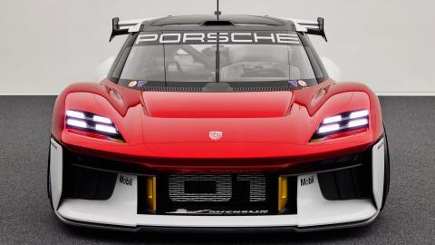 El deportivo eléctrico de carreras Porsche Mission R