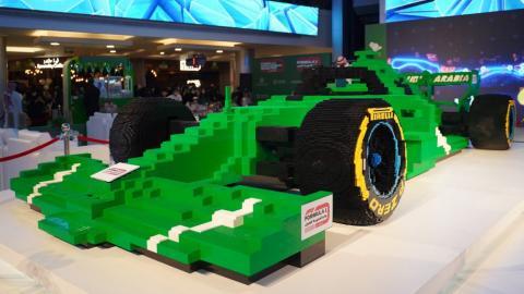 F1 de Lego más grande del mundo