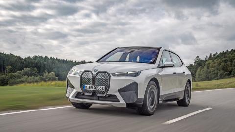 Prueba del BMW iX 50 xDrive 2022 TG