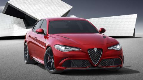 Alfa Romeo Giulia 2016 1