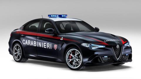 Alfa Romeo Giulia QV Policia Italiana Carabinieri