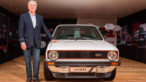 Anton Konrad padre Volkswagen Golf GTI creador