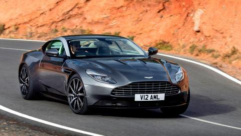 Aston Martin DB11, dinámica