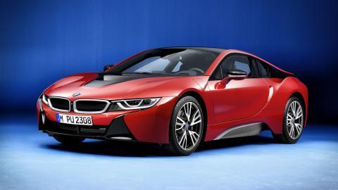 BMW i8 Protonic Red Edition portada
