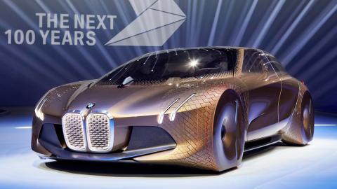 BMW Vision Next 100, presentación 2