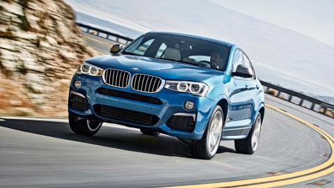 BMW X4 M40i, dinámica