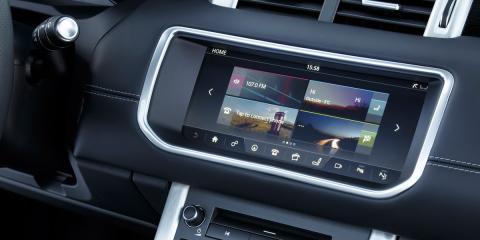 Infotainment Range Rover Evoque cabrio