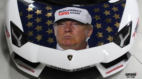 Lamborghini Aventador Donald Trump, 2