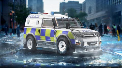 Land Rover Defender DC100 Policía