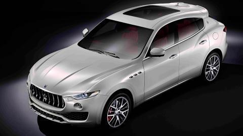 Maserati Levante 2016 frontal