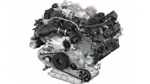 Motor V8 Porsche nuevo 550