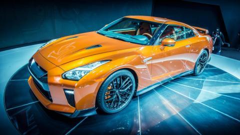 Nissan GT-R 2017 tal y como se podía ver en el Salón de NUeva York